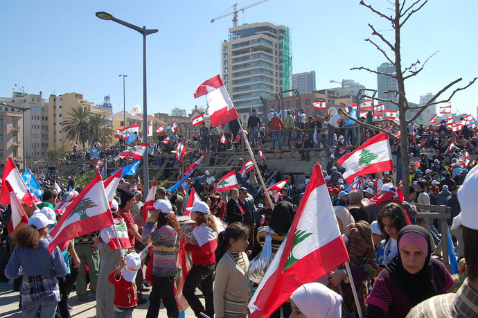 A side of the mass memorial rally in 2009 (Photo from wikipedia.org)