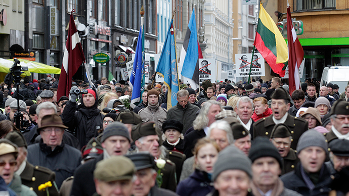 Riga Nazi vets parade 'reinterpretation of history for political purposes'