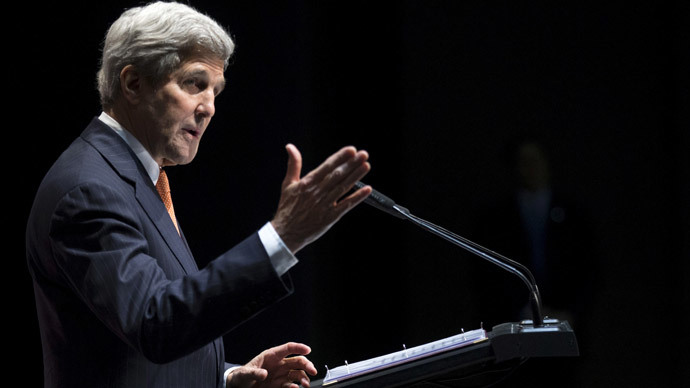 United States Secretary of State John Kerr.(Reuters / Brian Snyder)