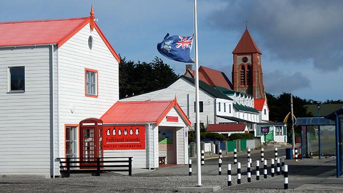 'UK's boosting of Falklands defense not sensible politics, terrific waste of money'