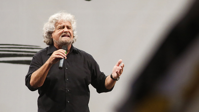 'EU has already collapsed'– Beppe Grillo to RT