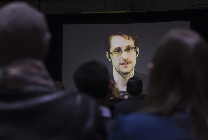Former U.S. National Security Agency contractor Edward Snowden. (Reuters/Mark Blinch)