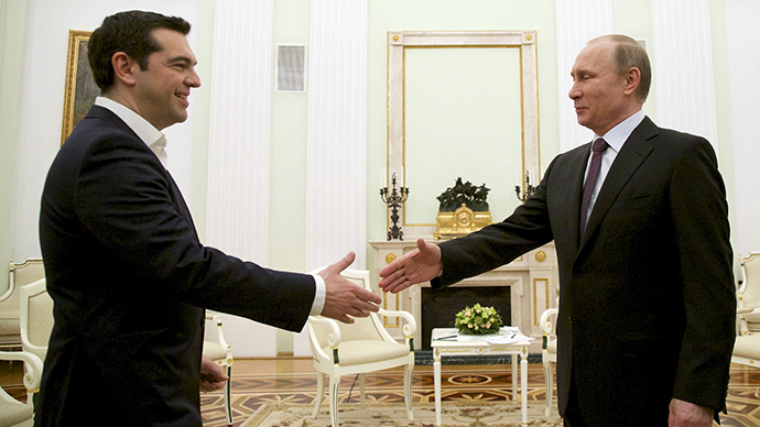 'Greek PM's Moscow visit defies neocolonial EU approach'