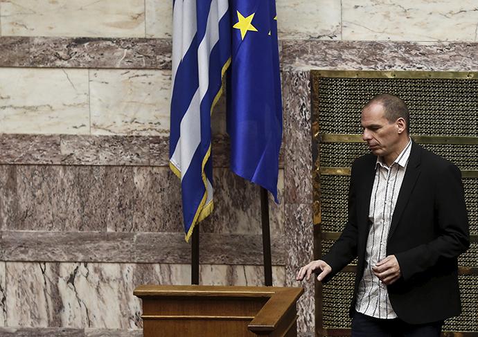 Greek Finance Minister Yanis Varoufakis (Reuters / Alkis Konstantinidis)