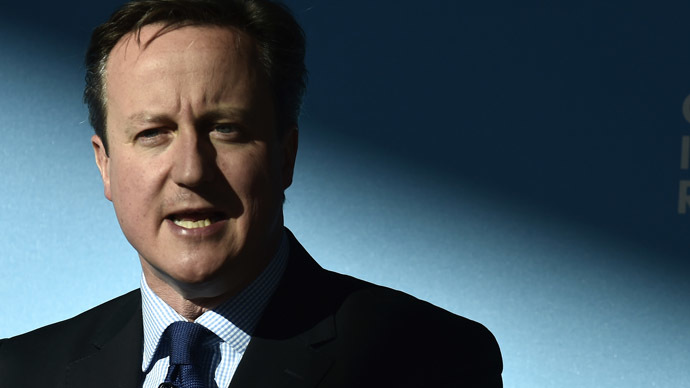 Britain's Prime Minister David Cameron. (Reuters/Toby Melville)