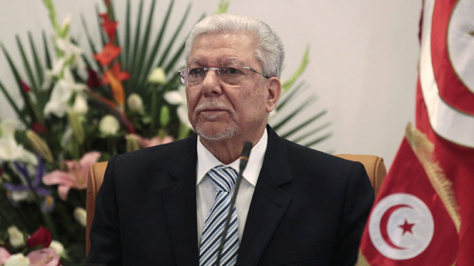 Tunisian Foreign Minister Taieb Baccouche (Reuters/Zoubeir Souissi)