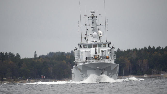 Sweden's 'submarine scare': Time to stop this kid stuff