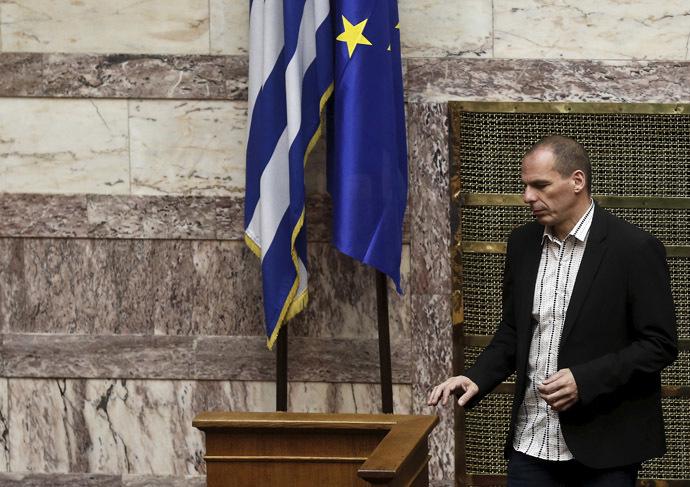 Greek Finance Minister Yanis Varoufakis. (Reuters/Alkis Konstantinidis)