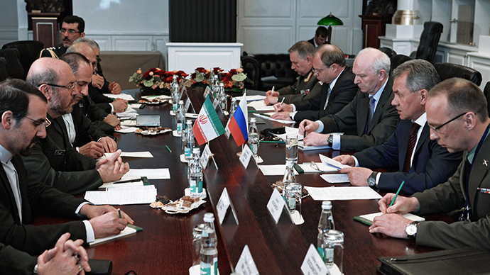 Did a Chinese-Russian-Iranian coalition opposing NATO debut in Moscow?