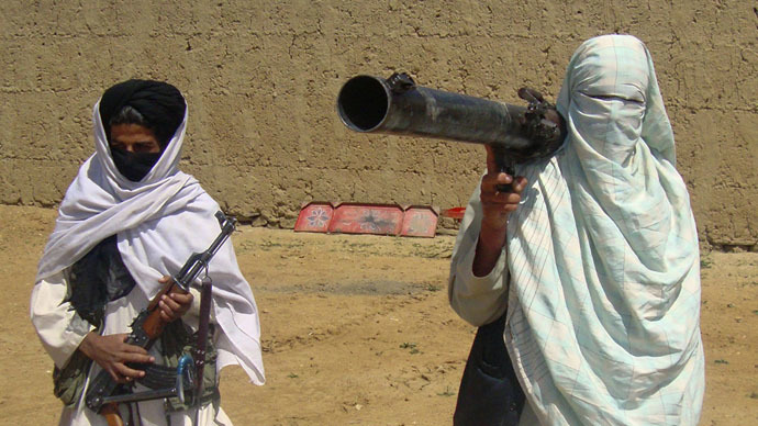 Taliban fighters (Reuters)