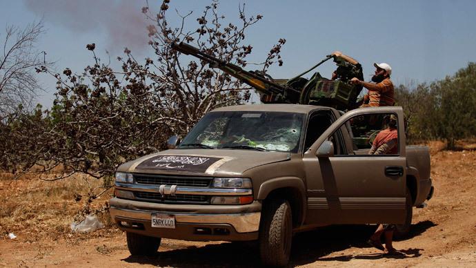 Members of jihadist group Al-Nusra Front (Reuters / Hamid Khatib)