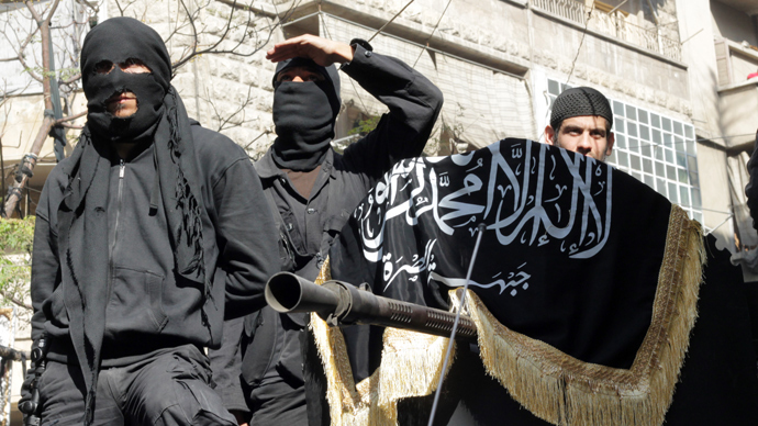 Members of jihadist group Al-Nusra Front (AFP Photo)