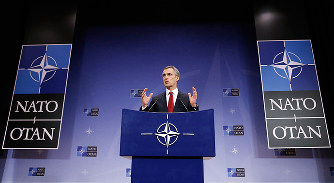 NATO Secretary General Jens Stoltenberg (Reuters / Francois Lenoir)