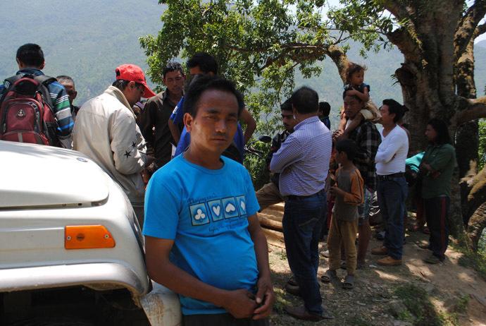 Lal Bahadur Tamang (Photo by Shiwani Neupane)