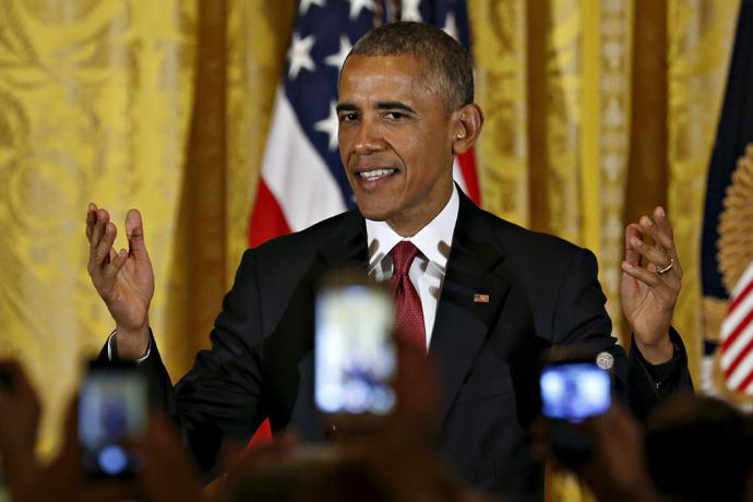 U.S. President Barack Obama. (Reuters/Jonathan Ernst)