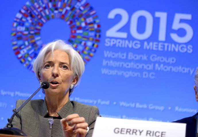 IMF Managing Director Christine Lagarde. (Reuters/Mike Theiler)