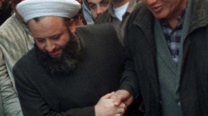 Lebanese Moslem Sunni Sheikh Maher Hammoud. (Reuters/Str)