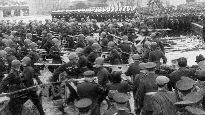 'Heroism & sacrifice: Impossible to put in words enormous Soviet losses in WWII'