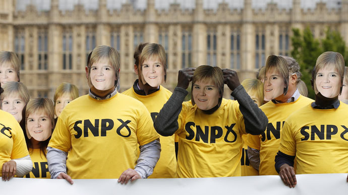 SNP landslide in Scotland: 'Scots rejected British colonial nationalism'