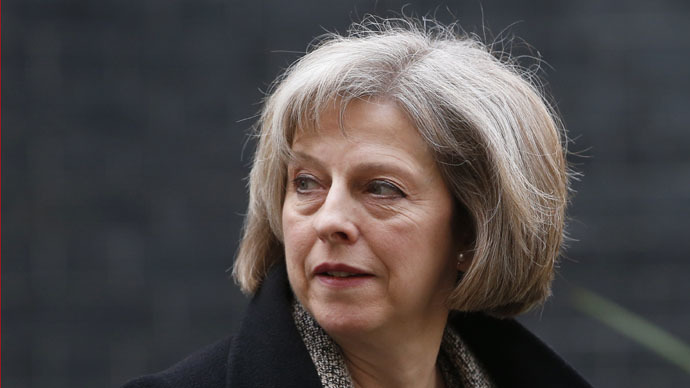 Britain's Home secretary Theresa May (Reuters/Suzanne Plunkett)