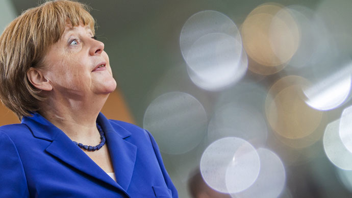German Chancellor Angela Merkel (Reuters/Hannibal Hanschke)