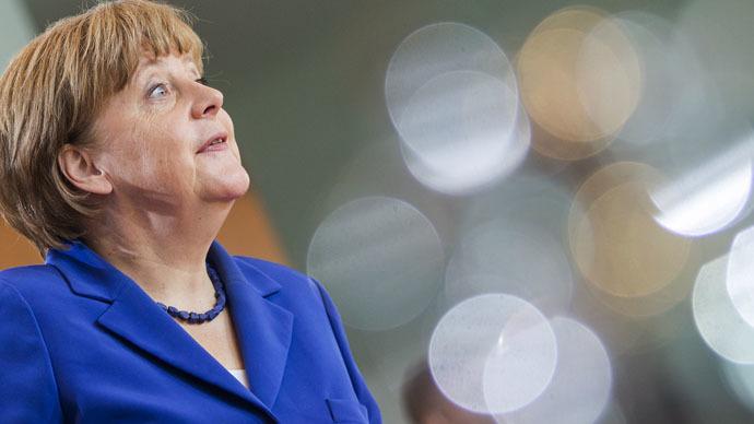 German Chancellor Angela Merkel (Reuters/Hannibal Hanschke)
