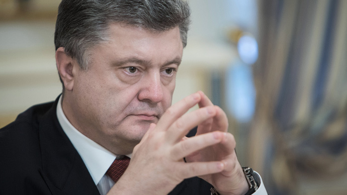 'Poroshenko's political life hangs in the balance'