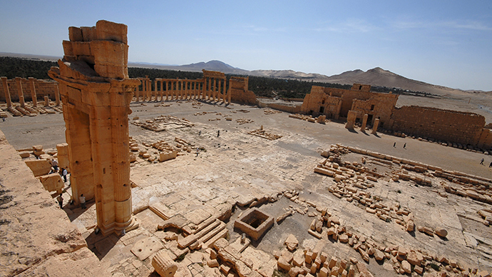 'Destruction of Palmyra would be a great loss, whole humanity will suffer'
