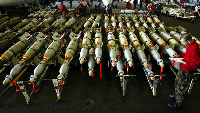 US-led wars and arms sales in Middle East 'very big business'