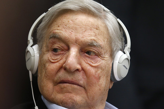 Georges Soros, Chairman of Soros Fund Management. (Reuters/Charles Platiau)