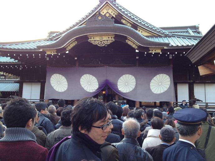 Yakusuni shrine.(Photo by Andre Vltchek)