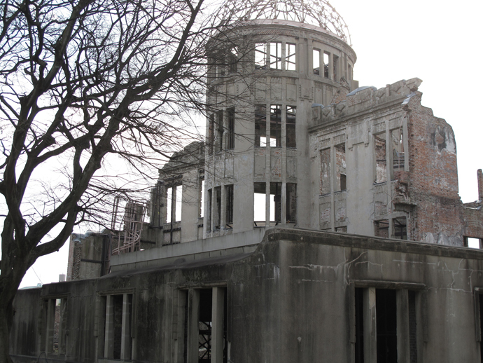 Nuclear Dome, Hiroshima, Japan - legacy of it, is perverted. (Photo by Andre Vltchek)