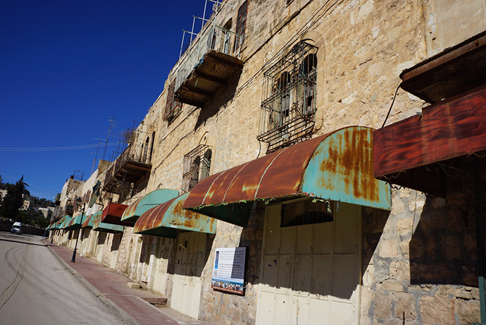 Palestinians' houses and shops were seized under martial law, which means they cannot challenge it in court (Photo by Nadezhda Kevorkova)