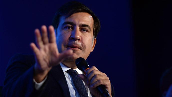 Saakashvili attempts a Napoleon in Odessa