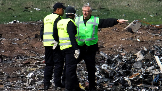Naming witness 'significant step' in MH17 investigation