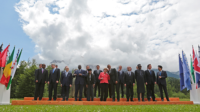 G7 summit at the Elmau castle in Kruen near Garmisch-Partenkirchen, Germany (Reuters / Christian Hartmann)