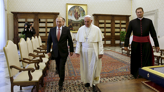 'Why Putin's meeting with the Pope ruffled the West'