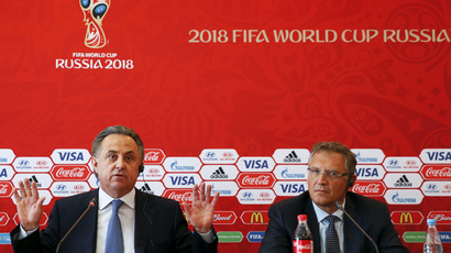 'Political agenda to have World Cup taken from Russia'