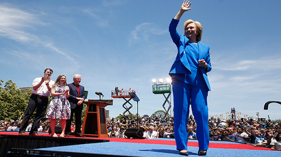'Clinton family – corporate capitalism brought to politics'