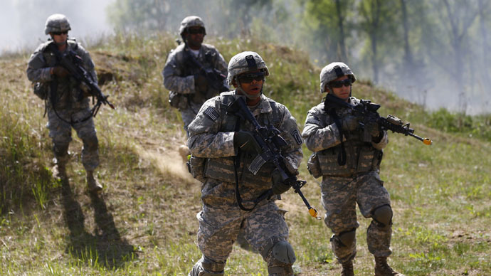 Why is US building up arms in Eastern Europe?