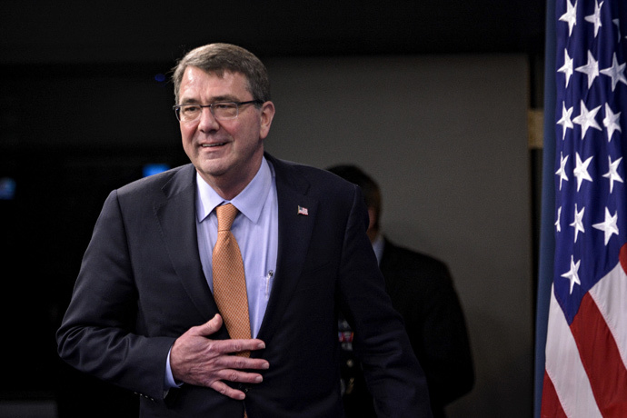 U.S. Secretary of Defense Ashton Carter (Reuters / James Lawler Duggan)