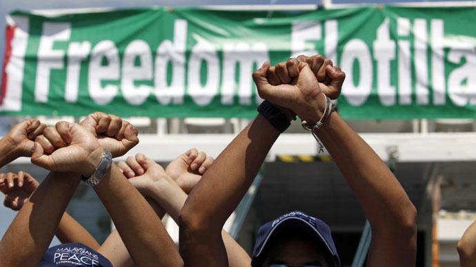 Freedom Flotilla setting off for Gaza
