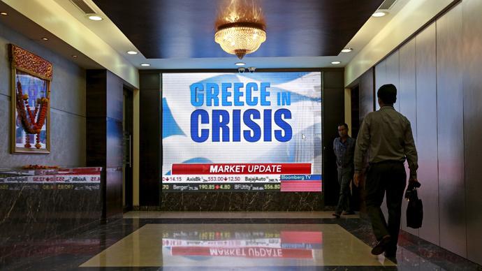 'Greece should go bankrupt, get it over & start it over'