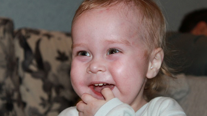 1 in 46 million: Vanechka has one of the rarest immune deficiencies on Earth