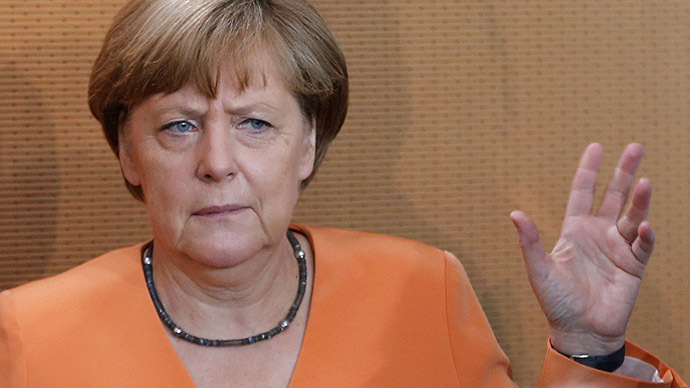 German Chancellor Angela Merkel. (Reuters / Fabrizio Bensch)