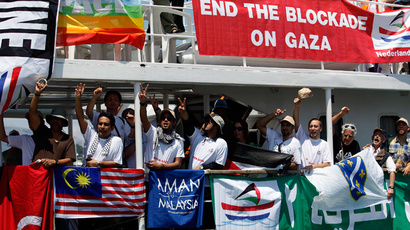 As long as Palestinians are denied human rights 'Freedom Flotilla' will sail