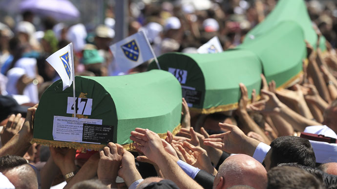 Srebrenica's legacy should be one of peace, not war