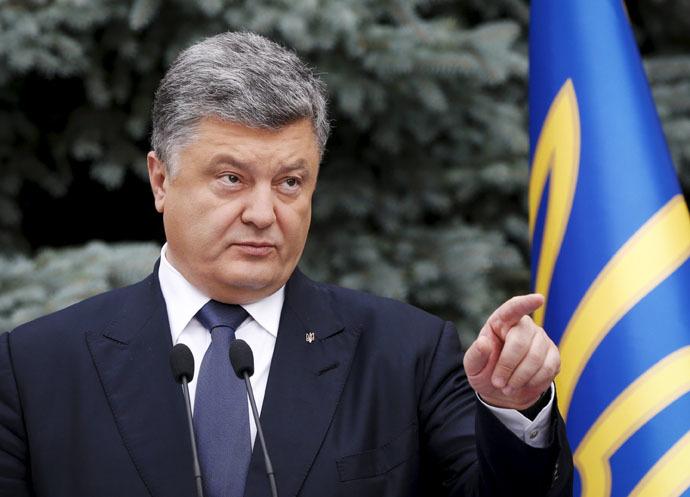 Ukraine's President Petro Poroshenko (Reuters/Valentyn Ogirenko)