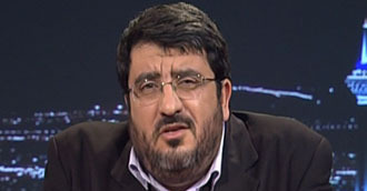 Foad Izadi (Still from Press TV video)
