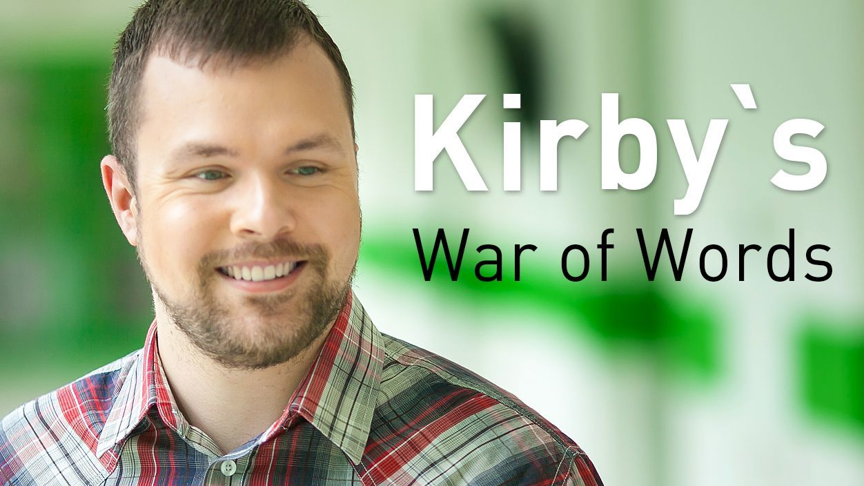 Kirby's War of Words